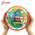XC925A 2015 New Big Magic Puzzle Ball Educational Magic Intellect Puzzle Game Magnetic Balls for Kids-138 Steps