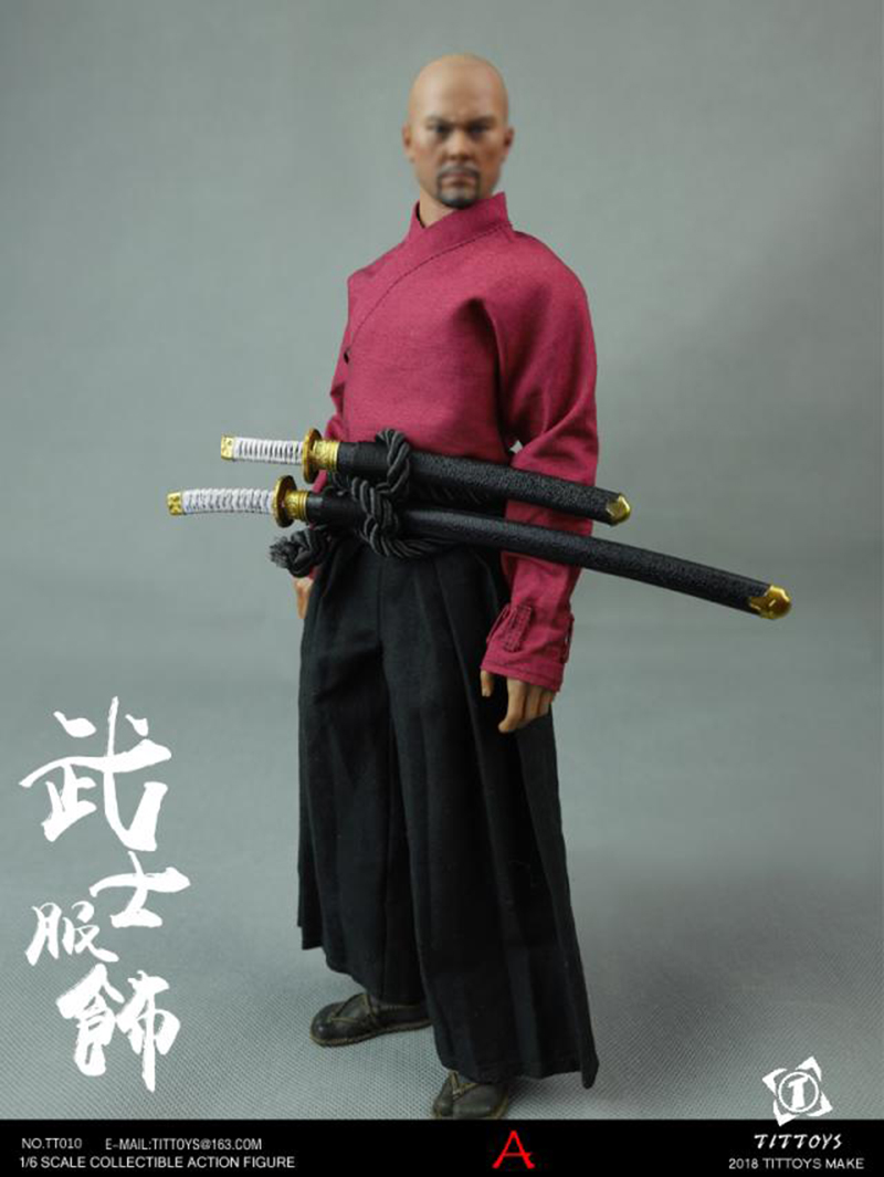 1/6 Scale TT011 Japanese Warrior Clothes Set Figure 12 action figure Accessories without body and head