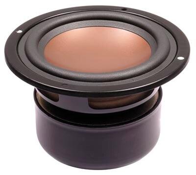 2PCS Original HiVi B4N 4'' Midrange Speaker Driver Unit Magnesium Aluminum Cone Shielded 8ohm 25W D116mm