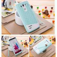 High Quality 3D Cute Cartoon Ice Cream Soft TPU Silicone Phone Cases Cover For LG G3