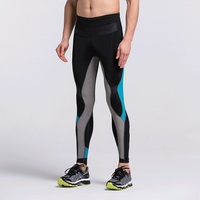 VANSYDICAL Pro tight pants men running compression pants elastic quick drying fitness pants basketball leggings MAHP6061