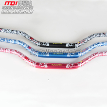 3 Colors Metal Mulisha ROCKSTAR Pack Fat Bar 1-1/8″ Dirt Pit Bike Motocross Motorcycle Handlebar 810mm length 28mm PRO aluminum