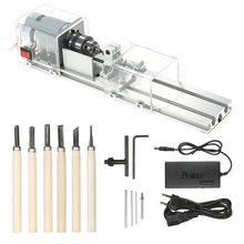 OPHIR 100W CNC Mini Lathe Machine Tool DIY Wood Working Wood Lathe Milling Machine Grinding and Polishing Drill Tool KD019W multifunctional 6 in 1 mini lathe combination diy driller for wood and metal