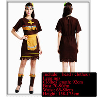 Savage Fuzhuang Adult Men And Women Savage Costumes African Savage Hunters Tribal Dancers Costumes