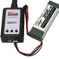 Высокое Качество B3 10 Вт 2 s 3 s ЛИПО Зарядное Устройство 7.4 В 11.1 В Быстрое Зарядное Устройство Для Li-полимерный Липо Батареи Черный