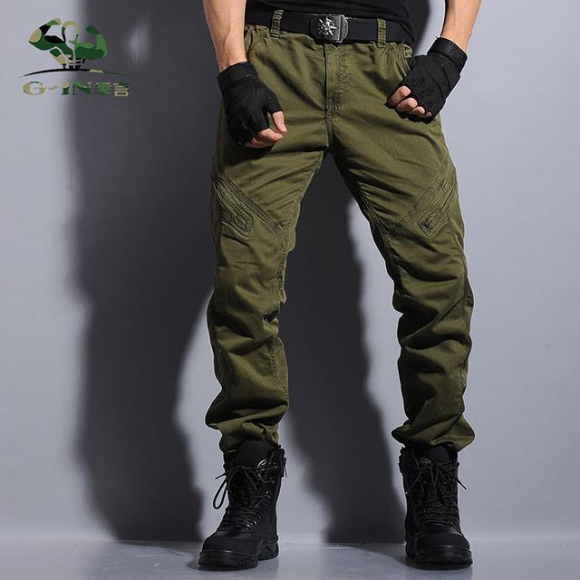 Homens de estilo militar calças cargo camo calças táticas calças de camuflagem do exército calças homme pantalon erkek pantaloni uomo pantolon