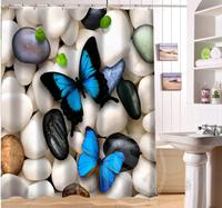 Beautiful butterflies and flowers Personalized Custom Shower Curtain Bath Curtain Waterproof MORE SIZE SQ0422-LQS12