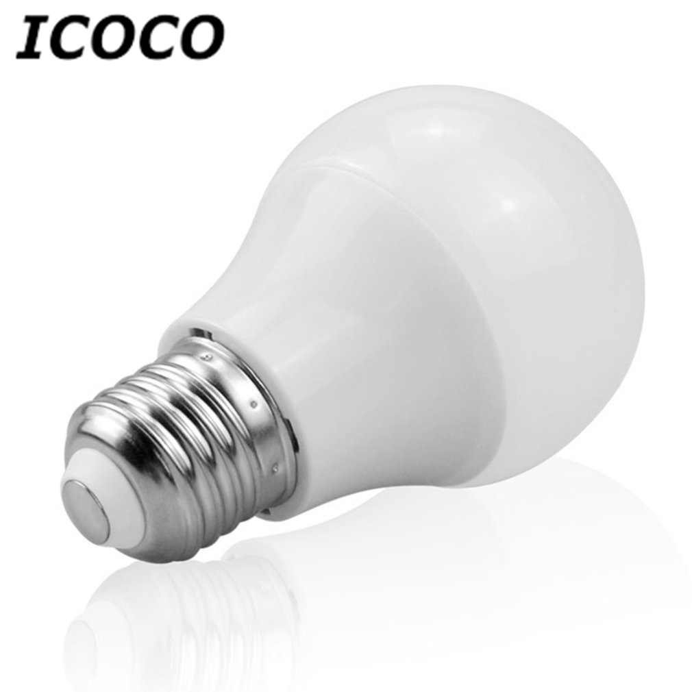 ICOCO Magic E27 Rgbw LED Bulb Night Light Bluetooth Control Smart Lamp Colorful Dimmable Bulb for Home Store Decor Drop Ship lightme smart e27 light bulb intelligent colorful led lamp bluetooth 3 0 speaker for home stage energy saving led light bulbs