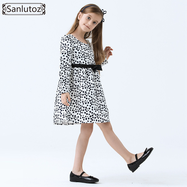 6c4a5b8e6eb04 US $12.46 68% OFF Girls Dress Winter Children Clothing Brand Kids Clothes  Party Flower Girl Dress Princess Holiday Spring Wedding Baby Toddler-in ...