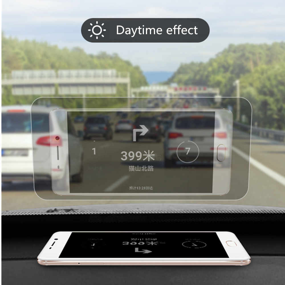Car HUD Reflective Film Head Up Display Protective Reflective Screen Consumption Overspeed Display Auto Accessories Car Styling
