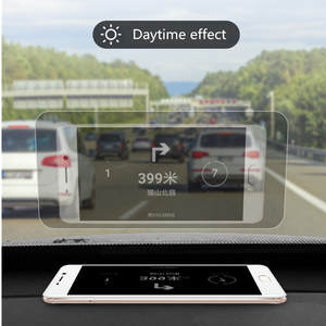 Auto-Accessories Display Reflective-Film Car Hud Overspeed Car-Styling