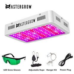 Luz LED de espectro completo MasterGrow 300/600/800/1000/1200/1500/1800 W para cultivo de plantas, tienda de campaña para invernadero interior