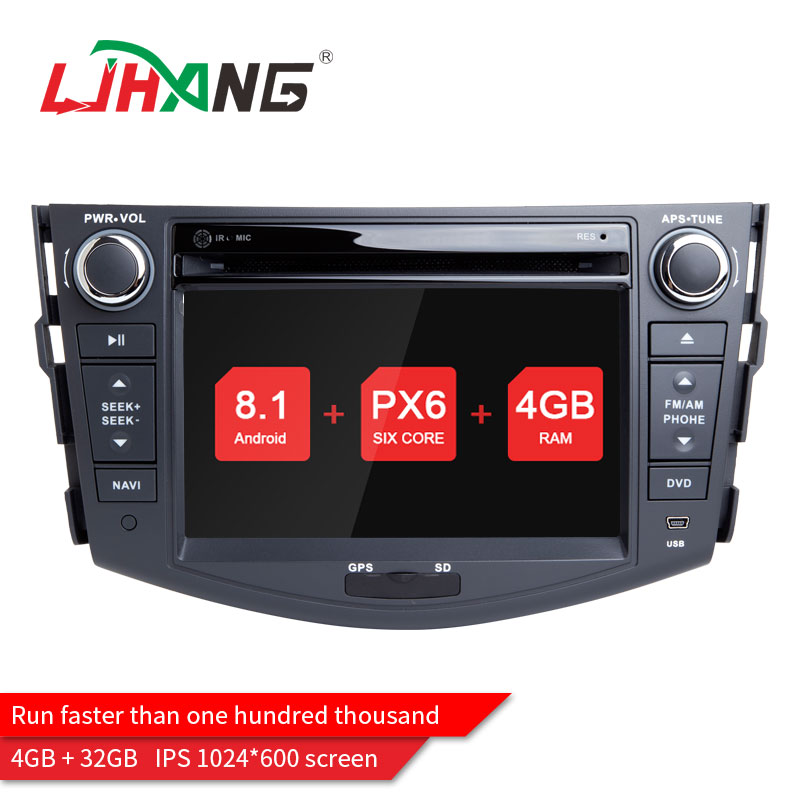 LJHANG 2 Din Android 8.0 For Toyota rav 4 RAV4 Car dvd Radio Player GPS Navigation Audio Stereo 4 GB RAM Wifi Mirror link RDS eunavi 7 2 din android 7 1 8 1 car dvd player radio multimedia gps navi for toyota rav 4 rav4 audio stereo 2din rds wifi usb