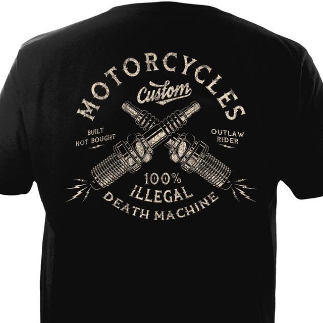 Vintage Motorcycles Custom Biker Chopper Bobber Motard Motorrad Homme 2019 New Print T Shirt Mens Short Sleeve Hot Band T Shirts