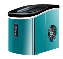 Бесплатная доставка 16 кг/24 ч портативная Автоматическая мороженица, бытовая пуля круглая машина для изготовления льда для семьи, небольшой