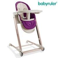 Gorący bubel BABYRULER Jadalnia Krzesło, wielofunkcyjny składany stół krzesła dla dzieci, przenośny i wygoda. Wysokiej jakości materiał
