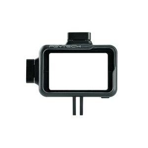 Image 2 - Pgytech osmo 액션 카메라 케이지 보호 케이스 dji osmo 액션 스포츠 카메라 프레임 커버 쉘 하우징 액세서리