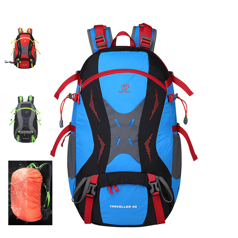 New Brand 40L Outdoor Sport Backpacks Professional Double-shoulder Mountaineering Backpacks Travelling Hiking Trekking Packsacks