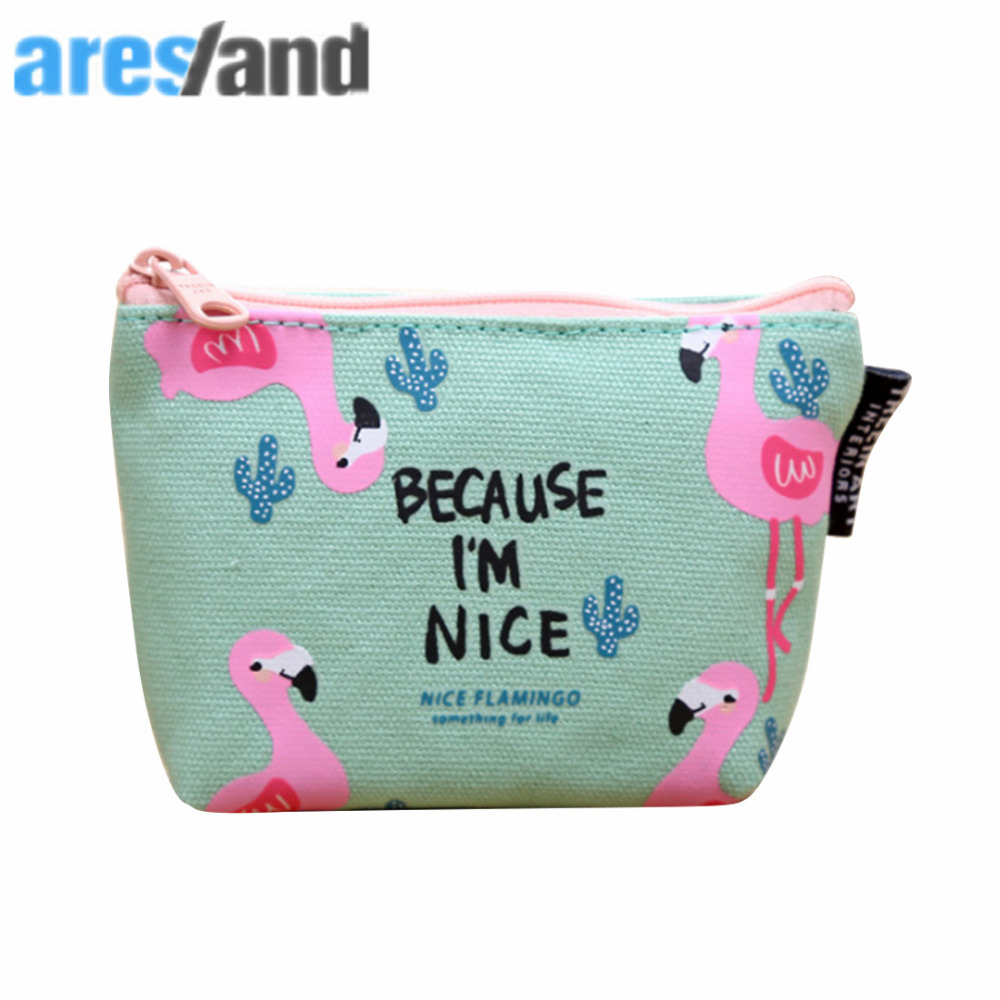 ARESLAND Small Children Storage Coin Bag Animal Cartoon Pattern Mini Cute Key Pouch Change Women Purse Coin Bags
