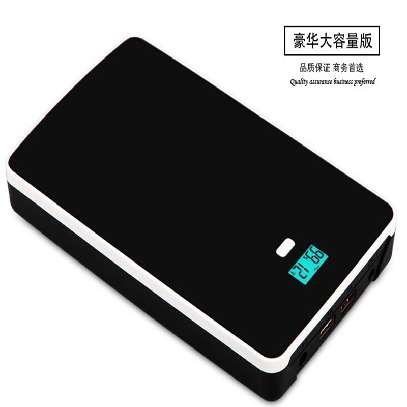 High quality 5V,7.4V,9V,12V,14.5V,16V,19V Lithium Li-polymer 50000mah USB chargeable Battery for Laptop cellphone power supply