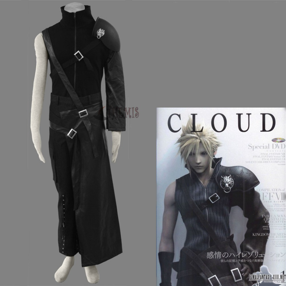 Athemis Final Fantasy cosplay XII 7 Cloud Strife Cosplay Costume High Quality Same as original Character