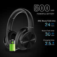 Mixcder E9 ANC Active Noise Cancelling Bluetooth Headphone Wireless Headset HiFi Deep Bass with Mic for Smartphone