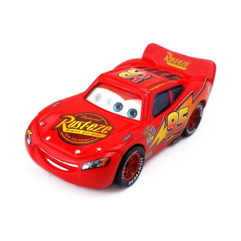 disney pixar cars radiator springs lightning mcqueen flash eye155 diecast metal toy car model - Flash Mcqueen