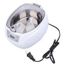 # Cu3 Baño Limpiador Ultrasónico 0.75L Tanque Cestas Joyería Relojes Anillo Inyector Dental 50 W Digital Limpiador Ultrasónico Mini PTSP