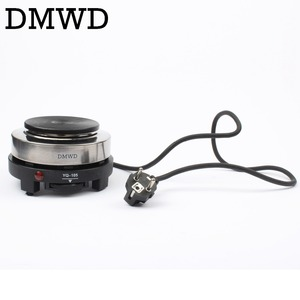 DMWD MINI Electric Moka Stove Oven Cooker Multifunction Coffee Heater Mocha Heating Hot Plate Water Cafe Milk Burner 500W EU US