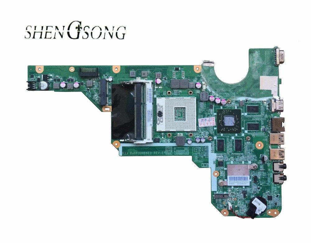 680569-001 680569-501 carte mère pour hp pavilion G4-2000 G6-2000 g7 portable avec 100% entièrement testé DA0R33MB6F1 DA0R33MB6E0