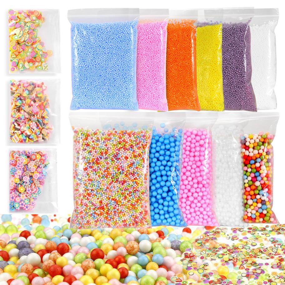 Learning & Education Toys & Hobbies #5001 Colorful Styrofoam Foam Balls Slime Tool Fruit Slice For Slime Making Art Diy Craft