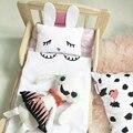 Bebek arabasi accesorios cubierta de cama mantas de bebé cochecito poussette couverture cabritos del algodón cobertor bebe bebé deken con almohada