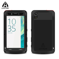 Metal Aluminum Cover For Sony Xperia X Case Armor Shockproof Life Waterproof Case For Sony Xperia