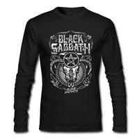 Black Sabbath Mens Long Sleeve T Shirt CLASSIC METAL ROCK BAND Shirt 100 Cotton Spring Autumn