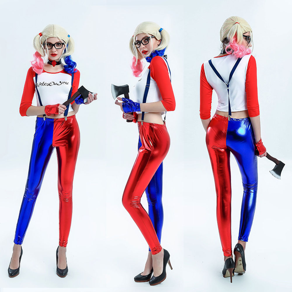Popular Harley Quinn Costume Suicide Squad Hair-Buy Cheap Harley ...