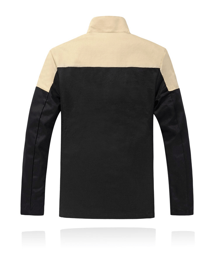 Nove jesenske in zimske moške bombažne jakne stoji ovratnik moške - Moška oblačila - Fotografija 3
