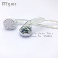 RY4S original in-ear Earphone  15mm music  quality sound HIFI Earphone (MX500 style earphone) 3.5mmTransparent earphone