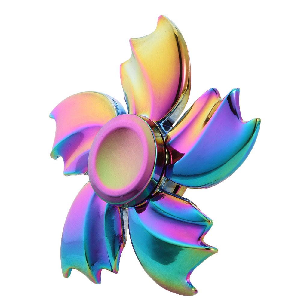 2017 New Arrival Rainbow Dragon  Spinner Hand Finger Gyro EDC Focus Toy