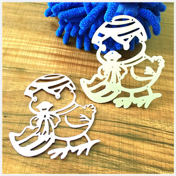 Duck Sister Metal Cutting Dies For Scrapbooking Stencils DIY Album Cards Decoration Embossing Folder Die Cutter Template image