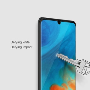 Image 5 - Huawei P30/P20 Pro Glass Screen Protector Nillkin 3D Full Coverage Safety Protective Glass on Huawei Mate 20 Pro Tempered Glass