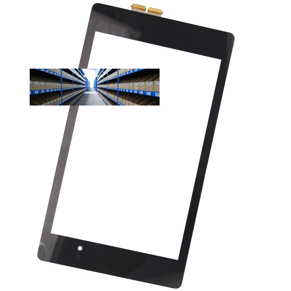 Brand New 7 Inch Black Touch Screen for Google NEXUS7 Tablet PC Glass Panel Replacement new 7 inch touch screen glass used on car gps mp4 tablet pc