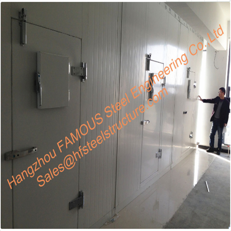 Prefabricated Large Capacity Cold Room Panel Cooling System Blast Frezeer For Meat
