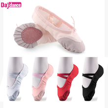 Girls Kids Pointe Shoes Dance Slippers High Quality Ballerin