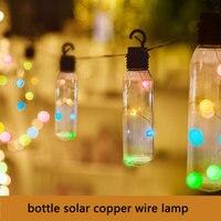 7.5M Bottle Solar String Lights Led Solar Garden Light Outdoor Waterproof Lighting for Courtyard Party Lawn Grden Decoration