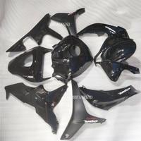 (Injection molding) Hot Sales,For Honda CBR600 F5 2007 2008 Parts CBR 600RR 07 08 F5 CBR600RR ABS All black Fairings Kit