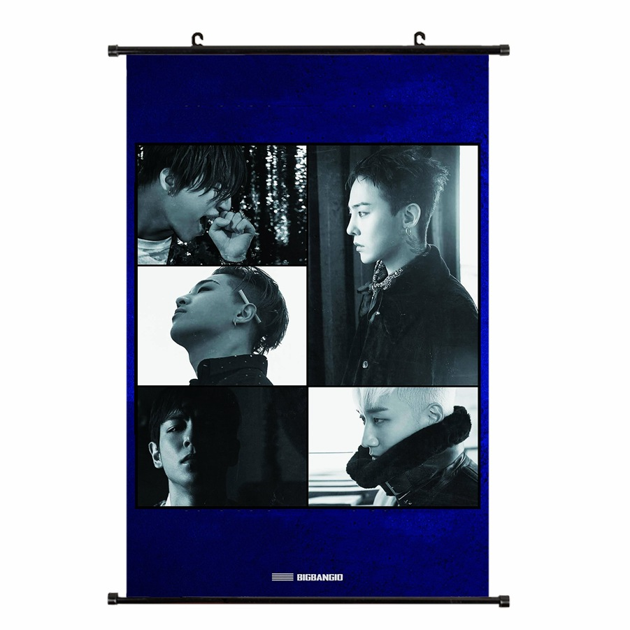 [MYKPOP]<font><b>BIGBANG</b></font> 10th Anniversary Hanging <font><b>Poster</b></font> HD PHOTO <font><b>KPOP</b></font> Fans Collection SA18052904 image