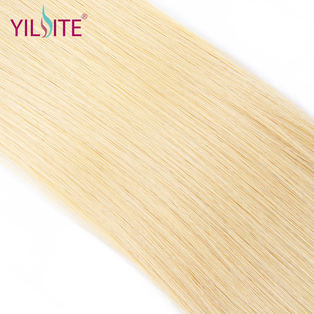 YILITE Tape In Remy Human Hair Extensions Double Drawn Straight Hair Invisible Skin Weft PU Tape On Hair Extensions