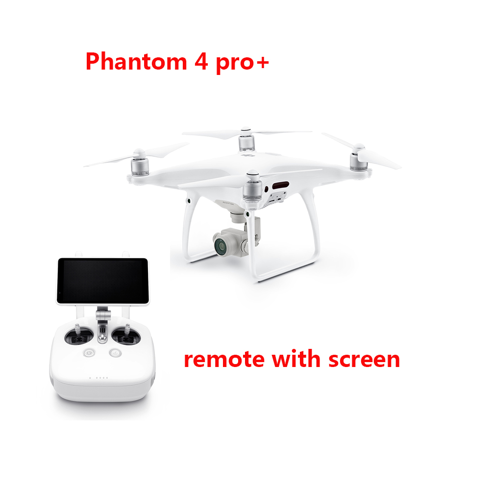 Freeshipping In stock original DJI Phantom 4 pro / phantom 4 pro plus Drone with 4K video 1080p camera rc helicopter brand new