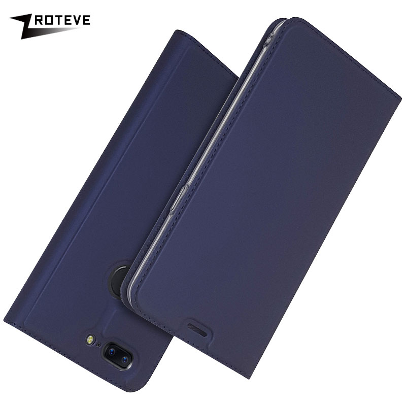 For OnePlus 5T Case Cover ZROTEVE PU Leather Wallet Coque For One Plus 5T 5 T Case Oneplus 5 Flip Stand Cover Oneplus5 T Cases in Flip Cases from Cellphones Telecommunications