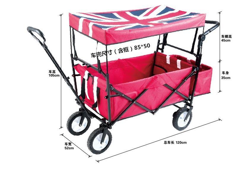 Louis Moda Cucina Carrelli Shopping Pieghevole Bambino Consegna Pull Rod Carrello per i Bagagli di Grandi Dimensioni a Quattro Giri